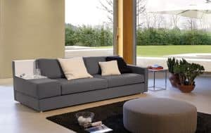 Brio, Sofa with various sizes, for waiting rooms and offices