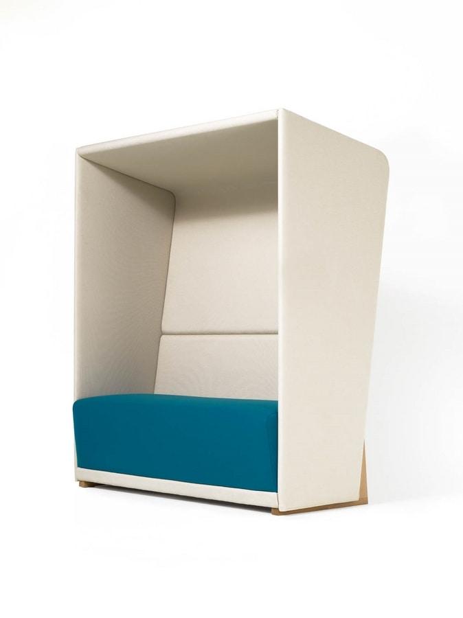 Circuit privè, High-backrest sofa that guarantee privacy