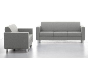 Comfy 02 03, Waiting sofa with comfortable backrest