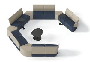 IKEBANA, Modular bench for waiting rooms and lounge areas