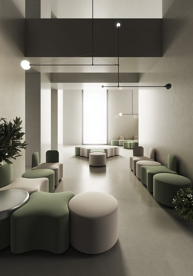 K2, Modular seating for waiting areas