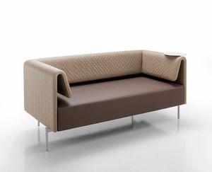 Klint, Sofa with refined woven fabrics