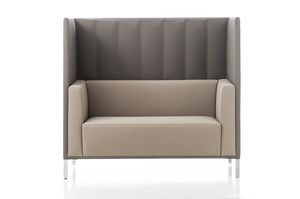 Kontex sofa high backrest, Sofa with high backrest, for meeting areas
