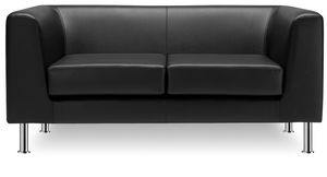 Max 2P 3P, Office and reception sofa with 2 or 3 seats