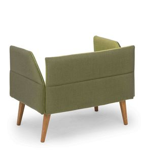 Oasis low, Small sofa with low backrest