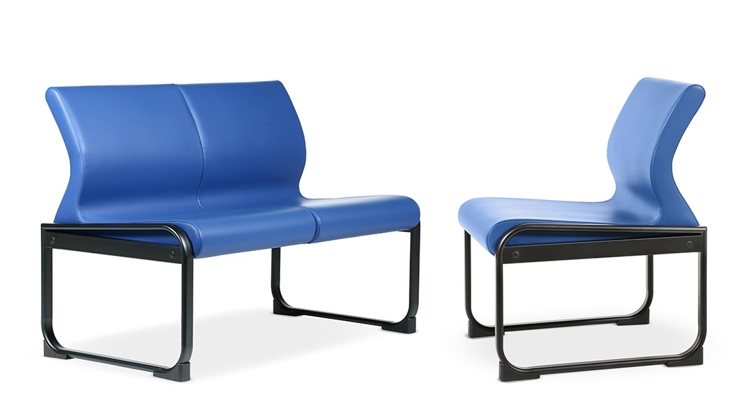 ONE 402 S, Lean sofa for waiting areas and offices