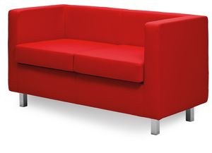 Paris 2P 3P, Sofa with a linear design, for sober halls