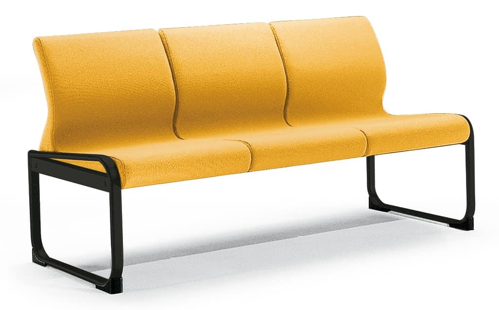 ONE 403 S, Sofa with base with anti tipping caps