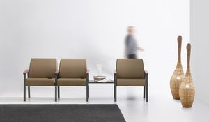 String Bench 3P, Modular seating for relaxation areas