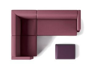 TRES, Modular sofa for waiting rooms