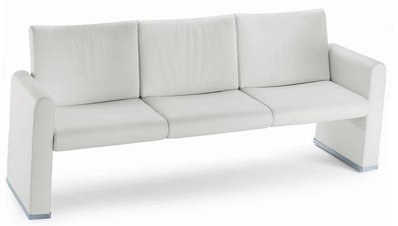 VIP 483, 3 seater sofa, suitable for hotels and offices