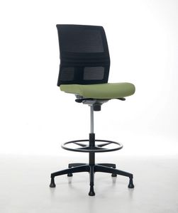 Omnia Plus Stool 02, Adjustable office stool
