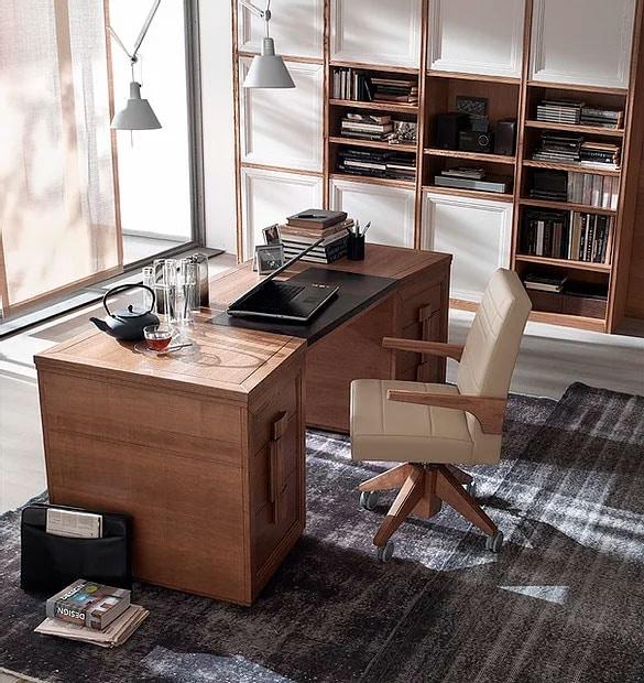 Tea, 6-drawer desk