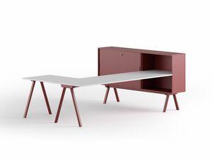 Workstation 2027 L, Desk with L-shaped top