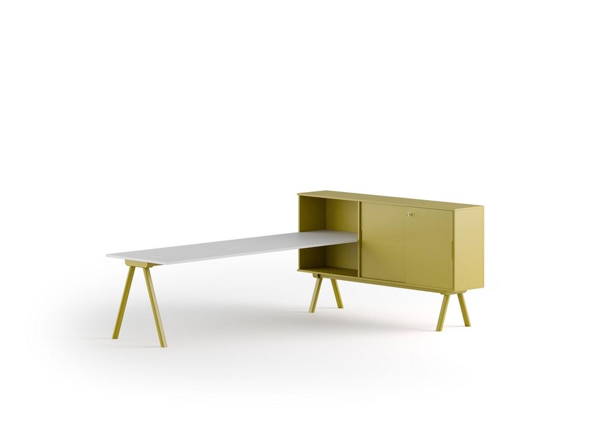 Workstation 2027, Modern office desks