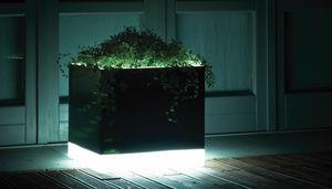 Cubotti Light, Vases with lighting