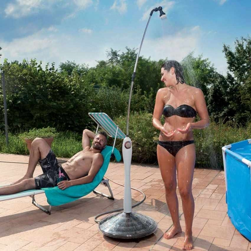 Portable Heated Solar Shower For Garden Pool SUNNY, Portable solar shower