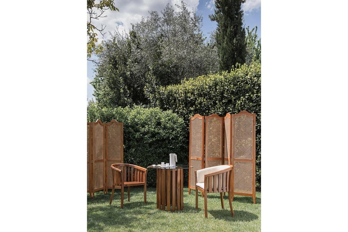 Porter 0866, Outdoor wood screen