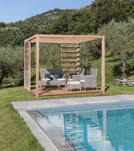 Saint Tropez 0807, Wooden gazebo