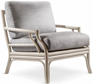 Bamboo armchair, Bamboo wood armchair, also for outdoor use