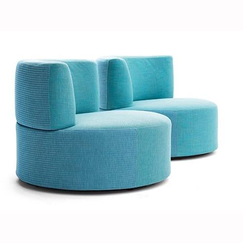Belt armchair, Upholstered outdoor armchair