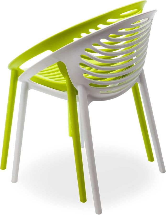 Pleasant Stackable Armchair In Polypropylene For Outdoors Idfdesign Gmtry Best Dining Table And Chair Ideas Images Gmtryco