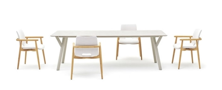 Lapis chair, Outdoor teak armchair