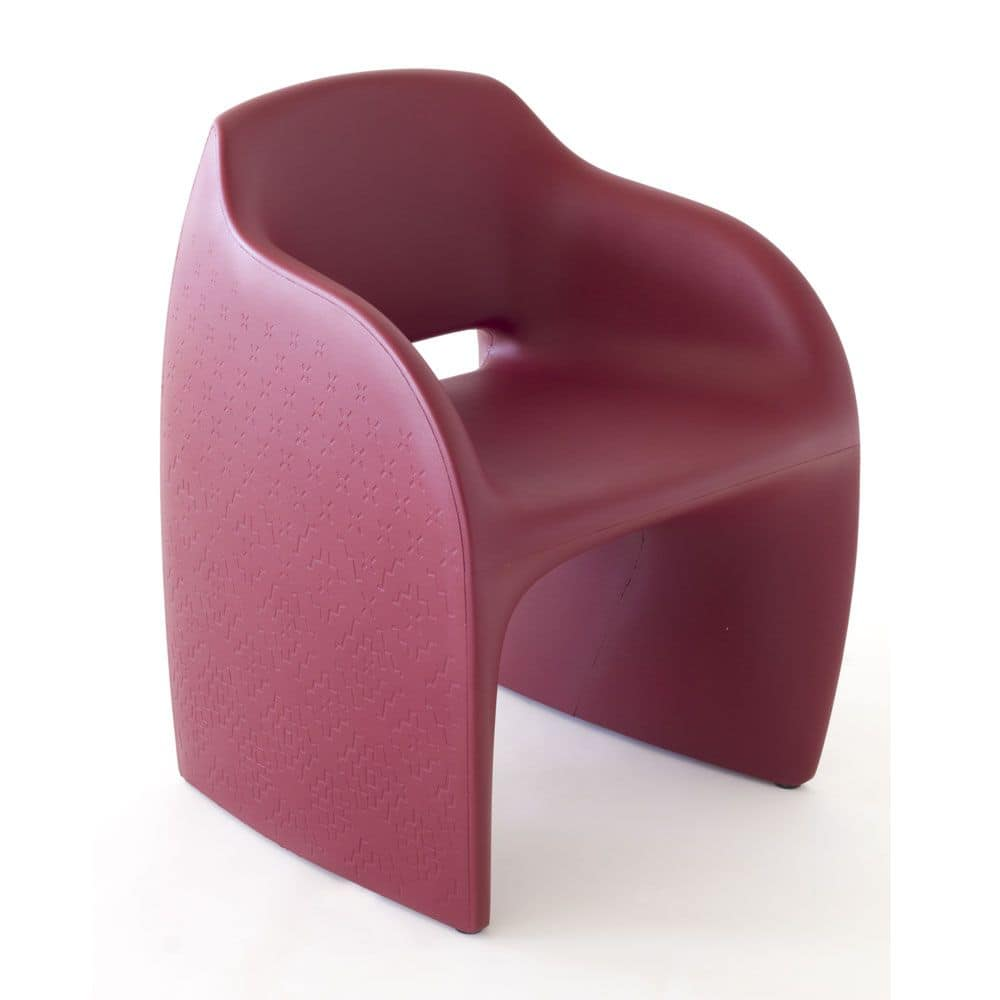 Lolly, Armchair in polyurethane ideal for outdoor environments