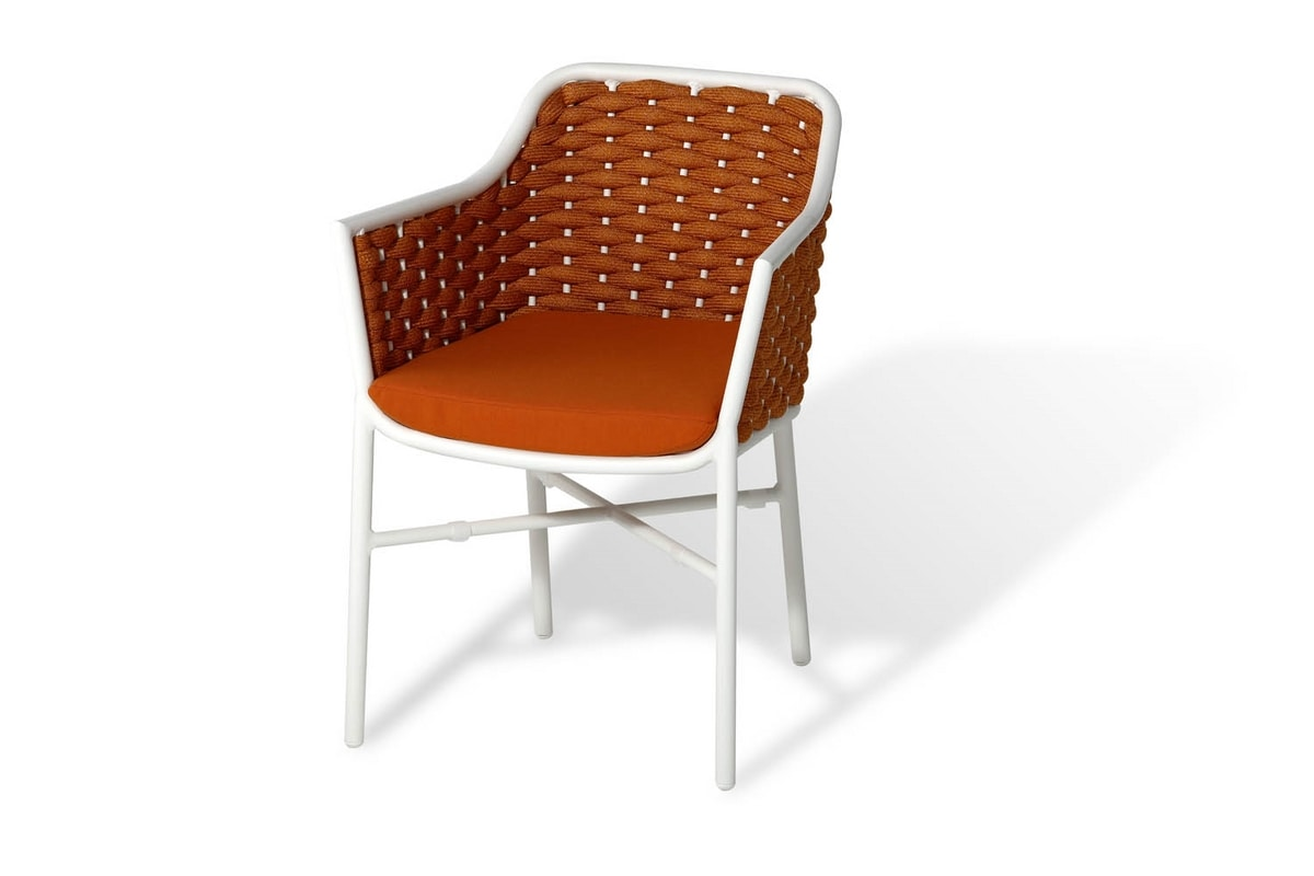 Love PL, Stackable armchair for outdoor use