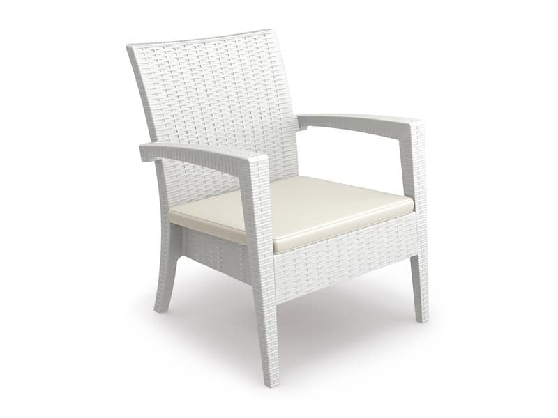 Minorca-PL, Outdoor chair, stackable, for ships, hotels, bars