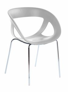 Moema 69, Modern armchair for bar and ice cream parlor