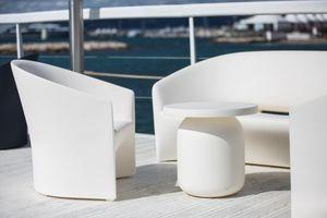 Pine Beach armchair, Outdoor armchair in polyethylene