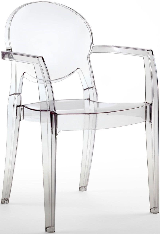 PL 2355, Transparent waterproof armchair, for outdoor
