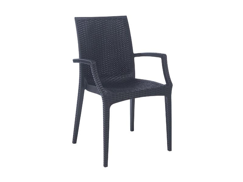 PL 6625, Modern Chair, interlaced printed, for Gardens