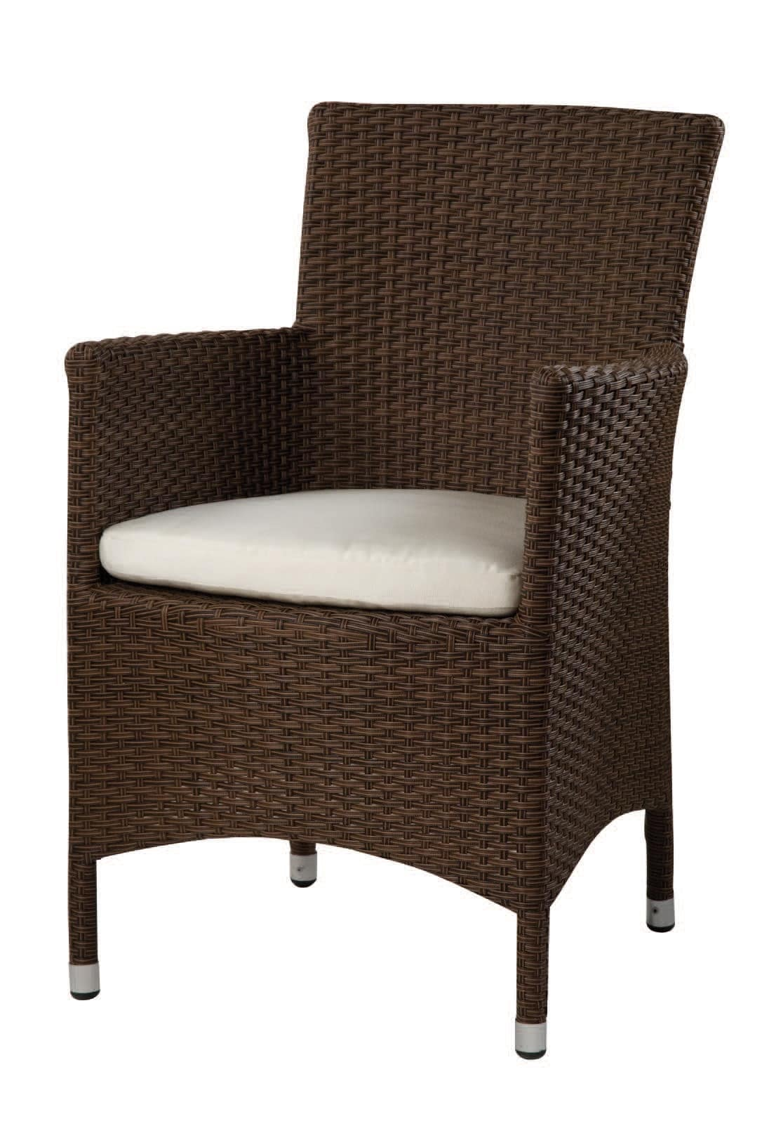 PL 768, Wicker armchair, for ice cream parlors and restaurants