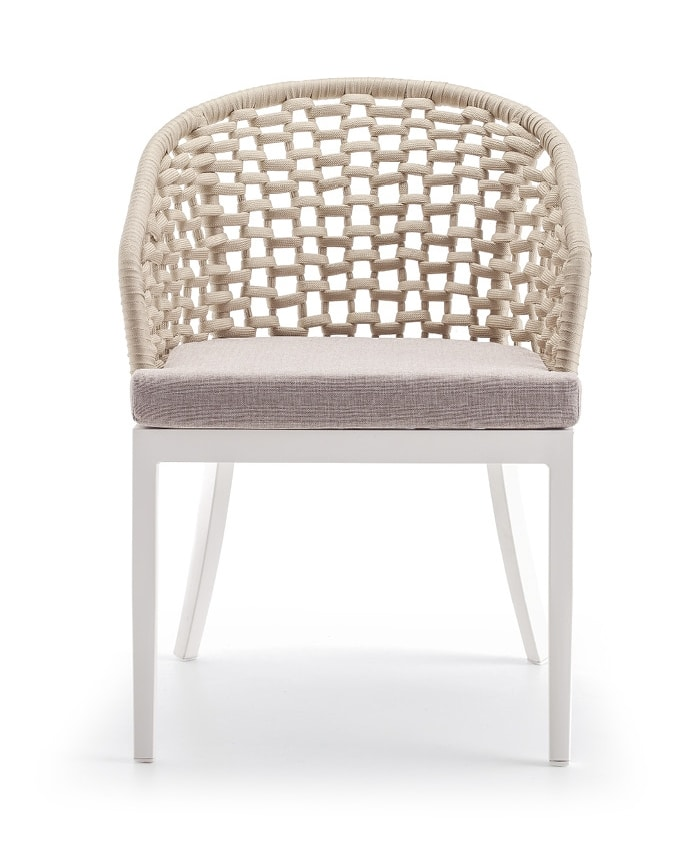Punta cana, Outdoor rope armchair