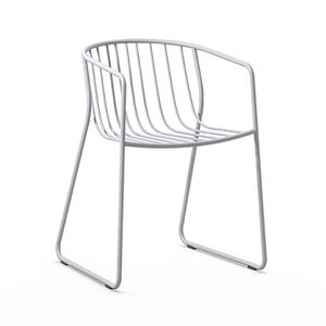 Randa nude AR, Stackable steel armchair