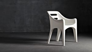 Russell, Design chair also for outdoor use
