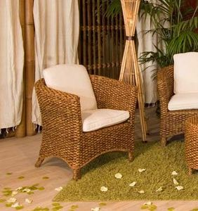 Armchair Hamilton, Ethnic armchair for outdoor use