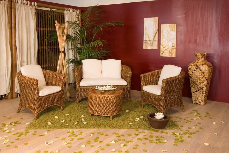 Armchair Hamilton, Ethnic armchair for outdoor use