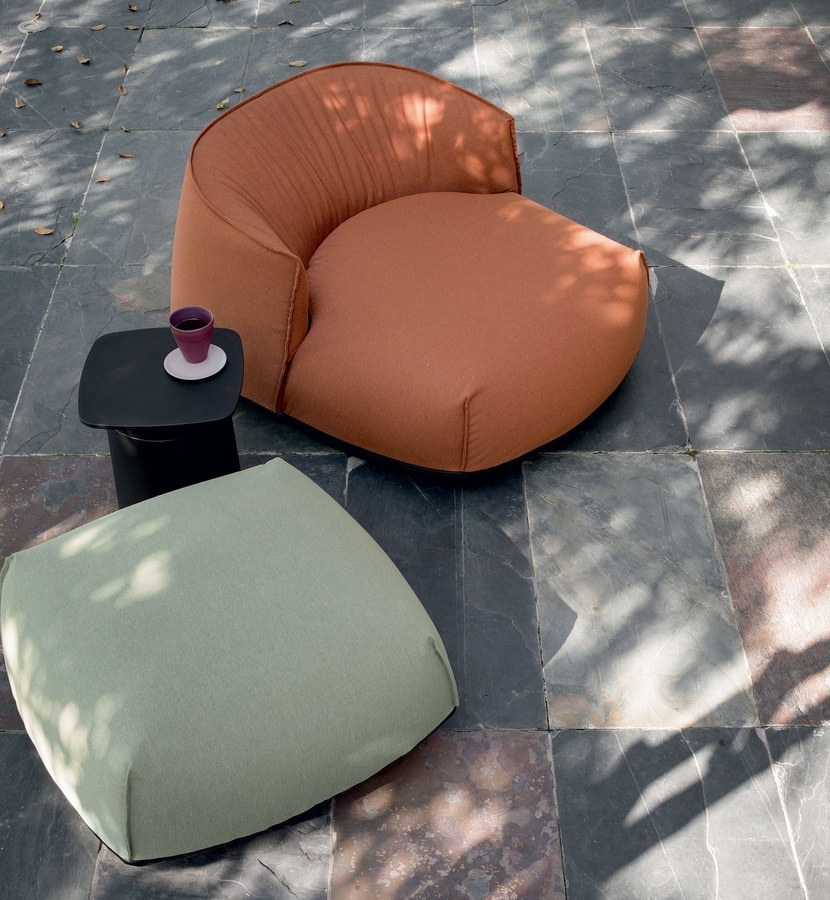 Brioni outdoor armchair, Outdoor lounge armchair