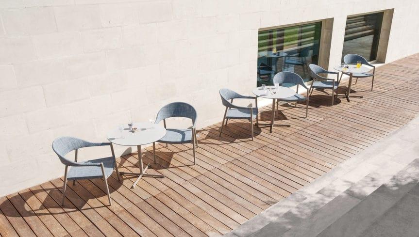 Clever lounge armchair, Garden lounge armchair