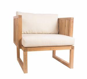 Code 0363, Armchair in teak wood