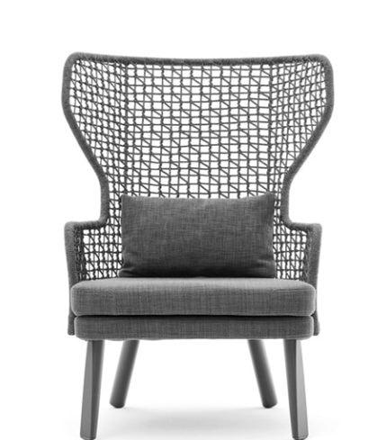 Emma bergère armchair, Outdoor bergère armchair