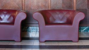 Sirchester armchair, Luminous armchair, comfortable and functional