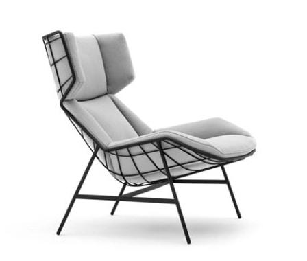 Summer set bergère armchair, Bergère armchair for outdoors