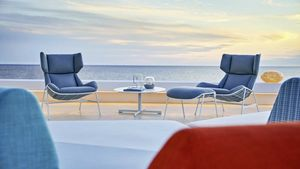 Summer set berg�re armchair, Berg�re armchair for outdoors