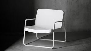 Time Out armchair, Design armchair for outdoor use
