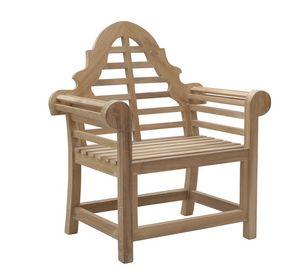 Vittoria 0305, Wooden armchair for garden