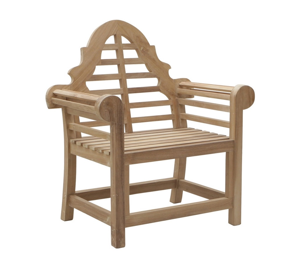 Vittoria 0305, Wooden armchair for garden